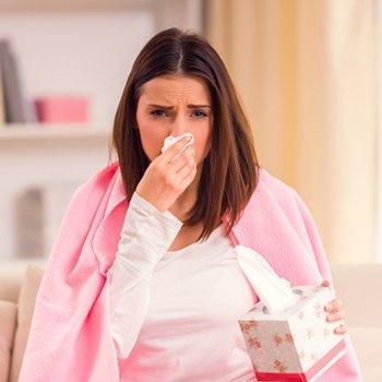 Como tratar a gripe ou resfriado na gravidez