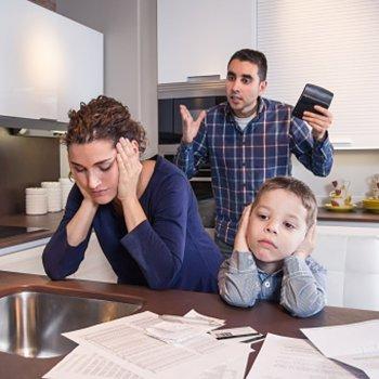 5 causas de brigas entre casais por causa dos filhos