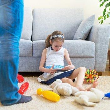 Como manter a ordem num quarto infantil