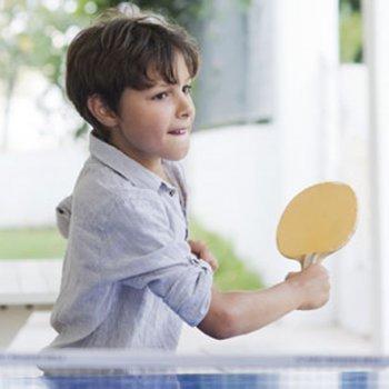 Benefícios do ping-pong para as crianças