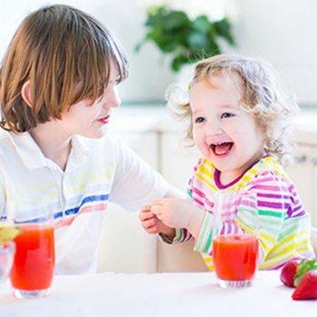 Alimentos que hidratam as crianças
