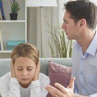 Falta de acordo entre os pais sobre a educação dos filhos