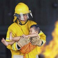 Como proteger as crianças em caso de incêndio