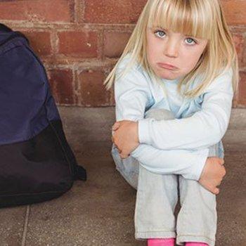 A criança não quer ir à escola