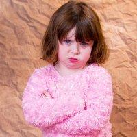 A teimosia infantil. Criança teimosa