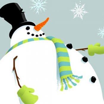 O Boneco de Neve. Conto de Natal para crianças