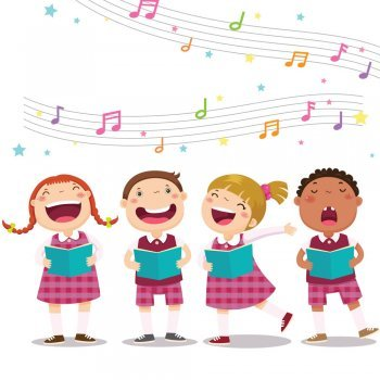 Letras das canções preferidas das crianças