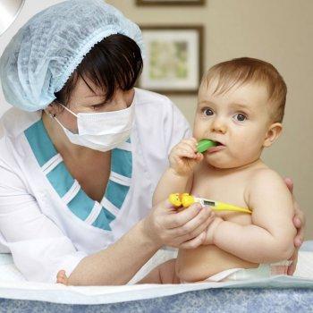 A gripe nos bebês
