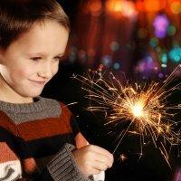As crianças e o cuidado com os fogos de artifício