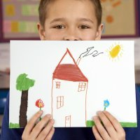 Como estimular a criança a desenhar