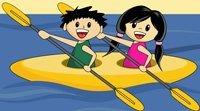 A canoa virou. Letra de canção para crianças