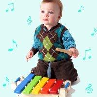 Estimulação musical de bebês e crianças