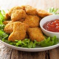 Nuggets de frango. Receita fácil e saborosa para crianças