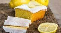 Bolo de limão sem glúten para cozinhar com crianças