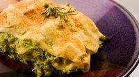 Lasanha de Brócolis. Receita fácil e nutritiva