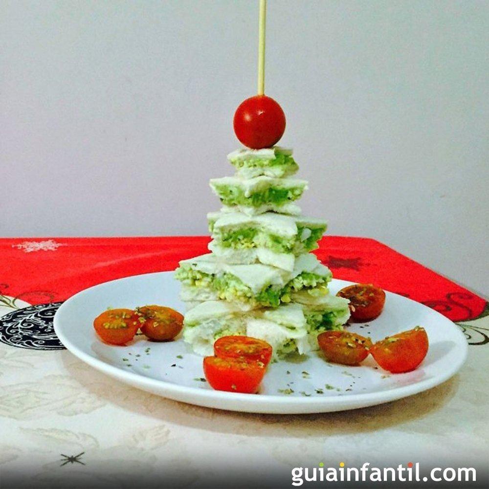 Rvore de natal com p o de forma receitas natalinas for Canapes para o natal