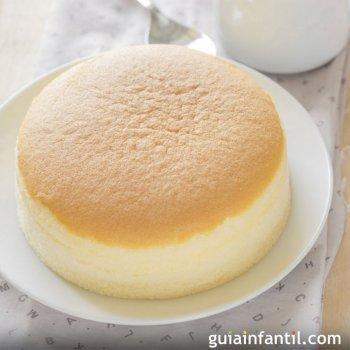 Bolo de queijo japonês com três ingredientes