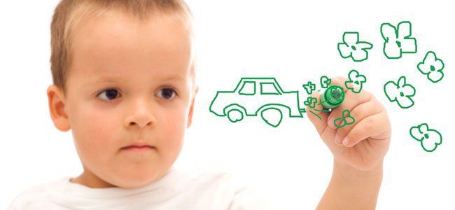 A lateralidade em crianças